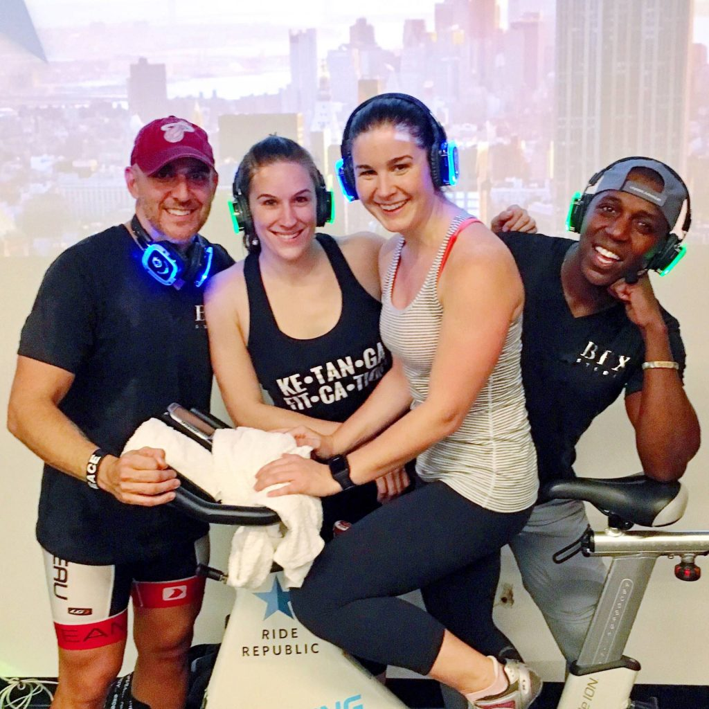 Silent Spin Class and Silent Yoga in NYC
