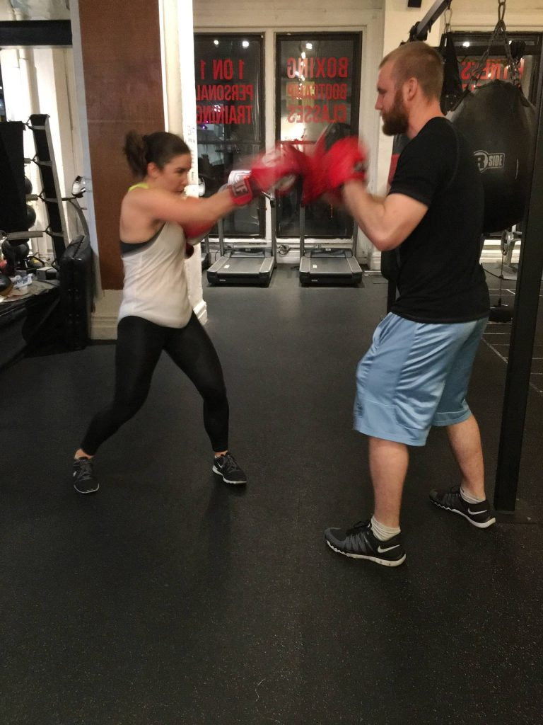 Boxing Workout at WORK Train Fight