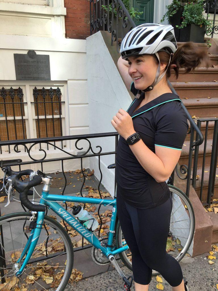 A biking gal's new best friend