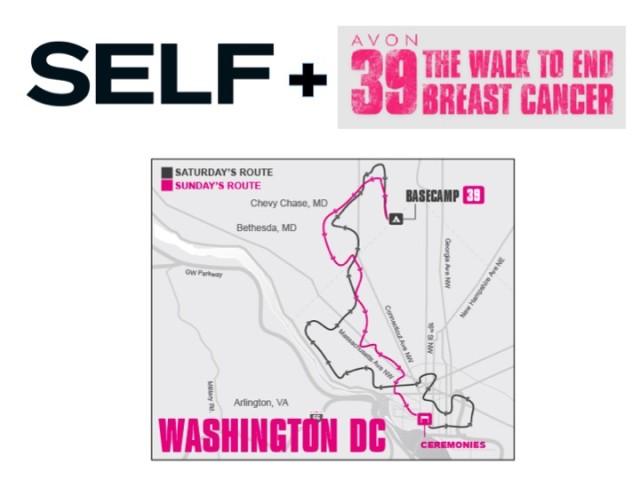 DC  Join Team SELF for Avon Walk