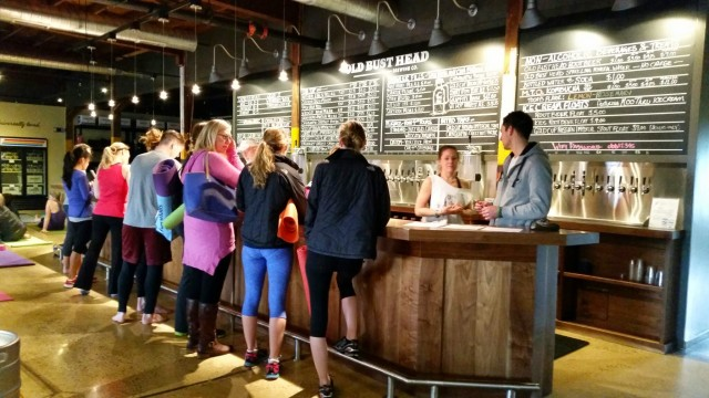 DC_ Detox_Retox Yoga at Old Bust Head Brewery