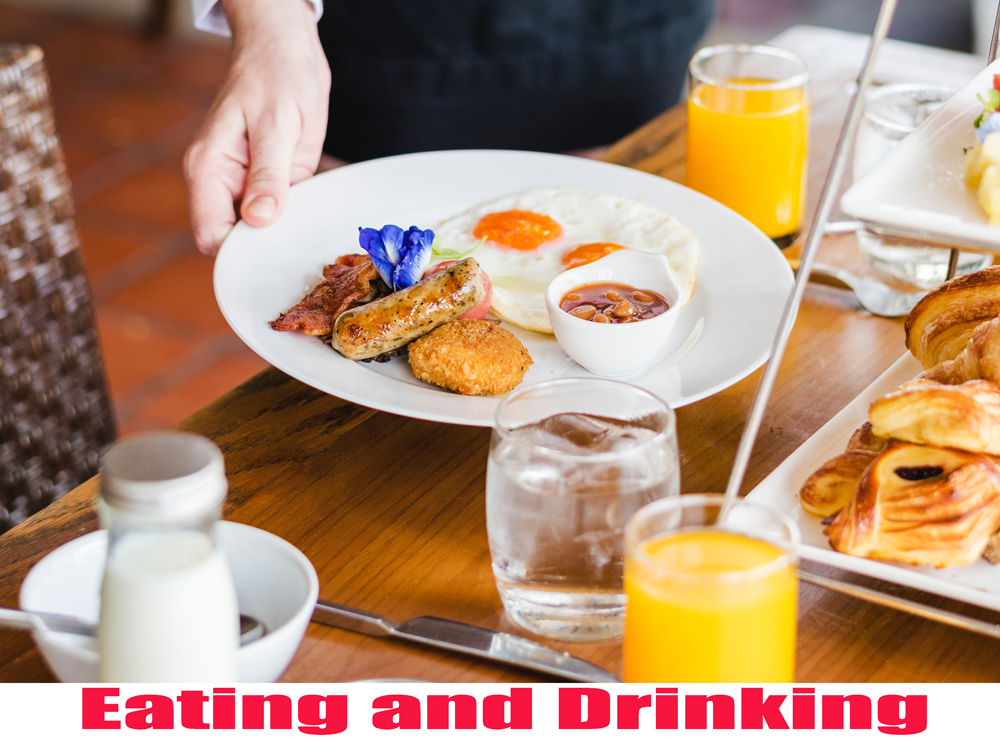 Eating and Drinking