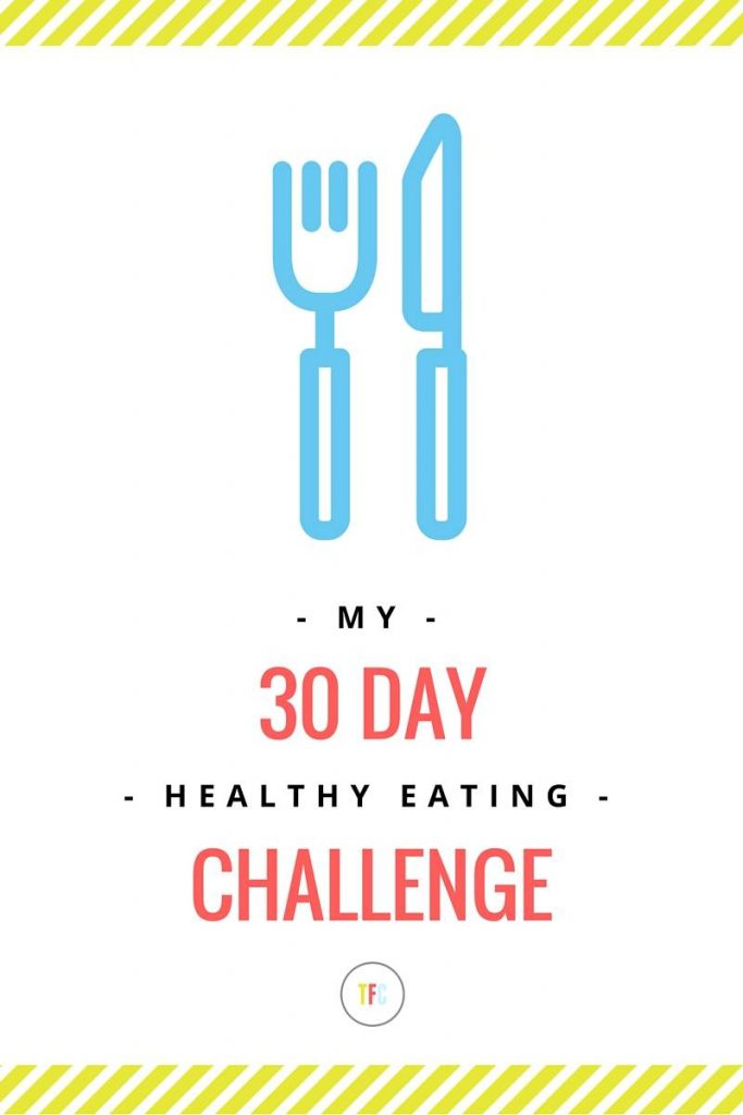 My 30 Day Healthy Eating Challenge