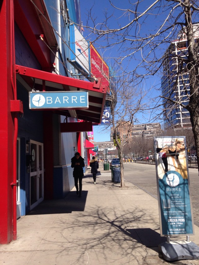 NYC Pier 60 Barre at Chelsea Piers