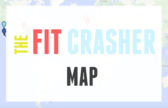 The Fit Crasher Map Goes Global