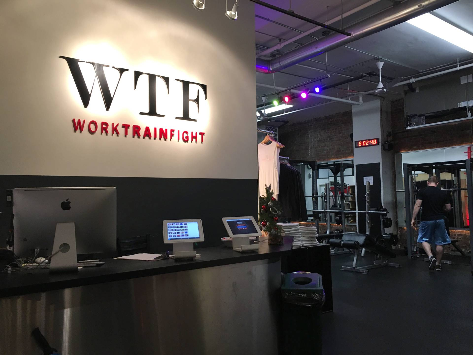NYC  Boxing Workout at WORK Train Fight