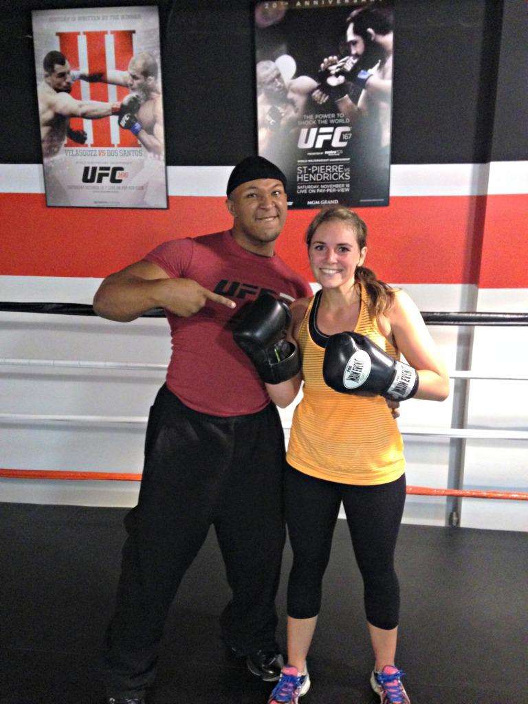 DC_ Kickin' It at UFC Gym Kickboxing