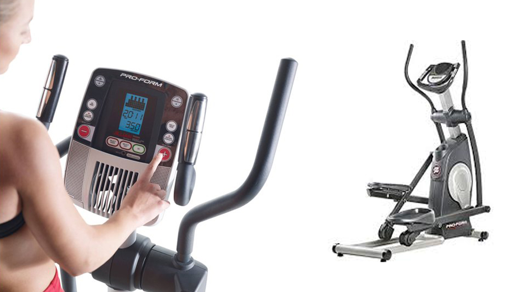 The Proform 600 CrossTrainer Elliptical